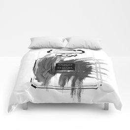 Black perfume #2 Comforters