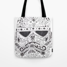 Day of the Dead Trooper Tote Bag
