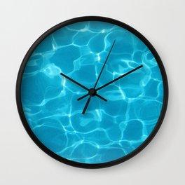 New Blue Pool Wall Clock