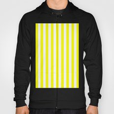 Vertical Stripes (Yellow/White) Hoody