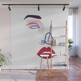 Eye of a Girl Wall Mural