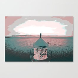 lighthouse. Canvas Print