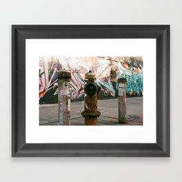 The Brooklyn Touch Framed Art Print