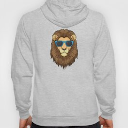 Lion with Sunglasses Hoody