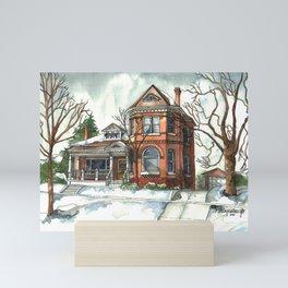 Victorian House in The Avenues Mini Art Print