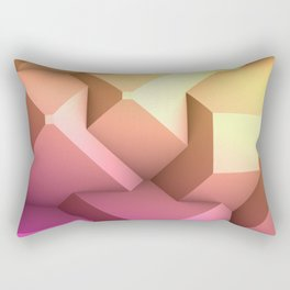 Poly Fun 2A Rectangular Pillow