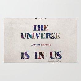 """Universe"" Print Rug"