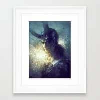 king Framed Art Prints featuring King by Anna Dittmann