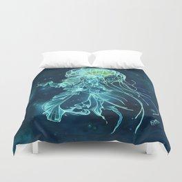 Bioluminescence Duvet Cover
