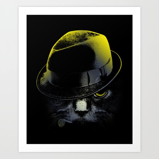 The Alley Cat Art Print