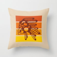 Nod to the 70's Throw Pillow