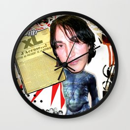 COLLAGE: Manuel Agnelli Wall Clock