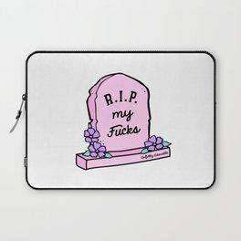 R.I.P. My Fucks Laptop Sleeve