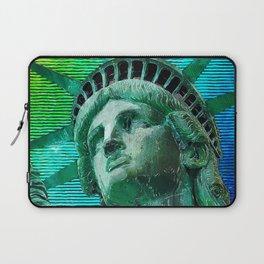 Pop Art Statue of Liberty Laptop Sleeve