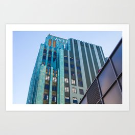 Eastern Columbia Building II Art Print