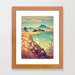 Last stop before Yaeinkei Framed Art Print