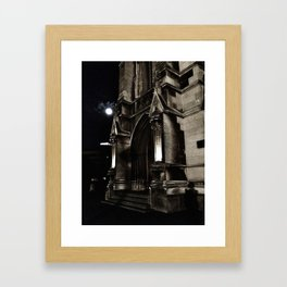 Church Facade Framed Art Print