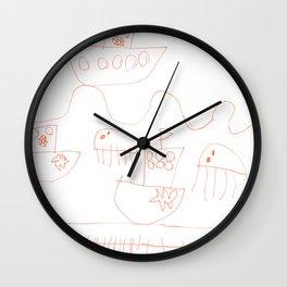 Life at sea Wall Clock