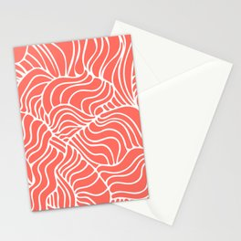 Living Coral Tropical Stationery Cards
