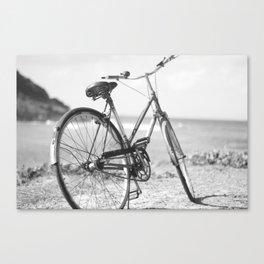 Beached Bike Canvas Print