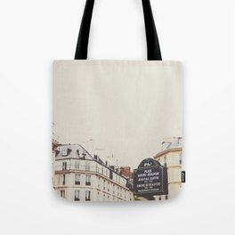 Place Sartre Beauvoir Tote Bag
