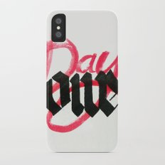 One day / day one iPhone X Slim Case
