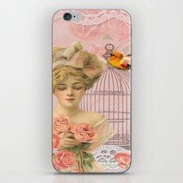 Vintage Victorian Beauty iPhone Skin