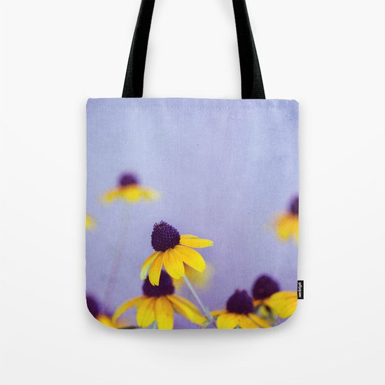Lilac and Yellow Tote Bag