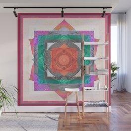 Harmonic of Radiant Gentleness Sacred Geometry Mandala Wall Mural
