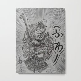 Manga Stretch Metal Print