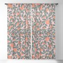 Oranges and Leaves Pattern - Pink by sewzinski