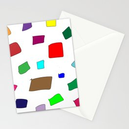 Hand Drawn Wannabe Squares (Jamison) Stationery Cards