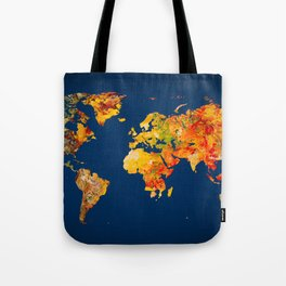 World Map 41 Tote Bag