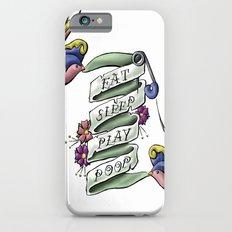Eat Sleep Play Poop iPhone 6s Slim Case