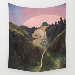 Mineral Spring Wall Tapestry