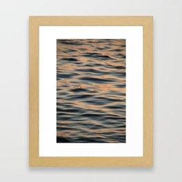 Sunset on the Water II Framed Art Print