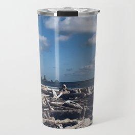 Drift Wood and Dreams Travel Mug