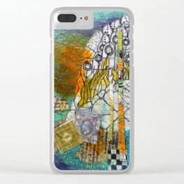 Civilization is Chaos Clear iPhone Case