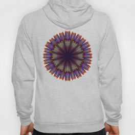 Floral mandala with tribal patterns in the petals Hoody