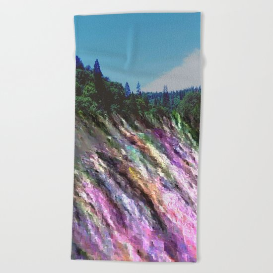 Happily Stranded Beach Towel