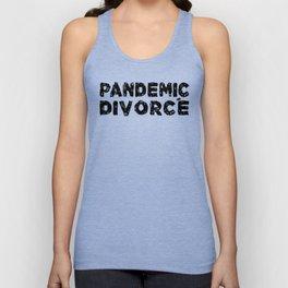 Pandemic Divorce Unisex Tank Top