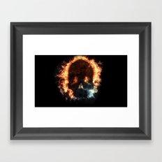 House of Fire Framed Art Print