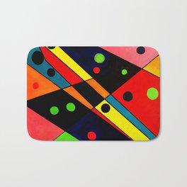 Geometric Art Bath Mat