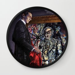 Dorian Gray Revisited Wall Clock