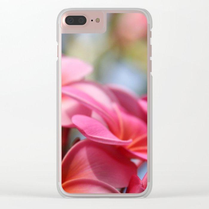 He Pua Lahaole Ulu Wehi Aloha Clear iPhone Case