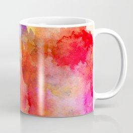 ink style of orange watercolour texture Coffee Mug