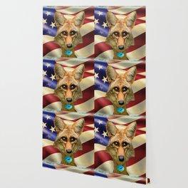 Patriotic Arizona GQ Coyote Wallpaper