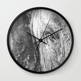 Gentle Giant (black + white) Wall Clock