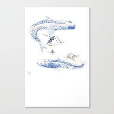 Alluvione   Flood Canvas Print