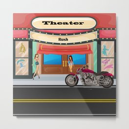 Theater by Liane Wright Metal Print
